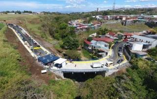 Inauguración Puente Héroes Nacionales