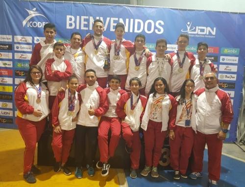 Belén y Heredia logran tercer y cuarto lugar en Juegos Deportivos Nacionales