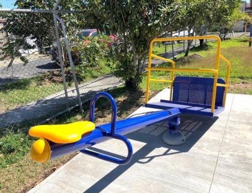 Inauguran en San Joaquín el primer parque inclusivo