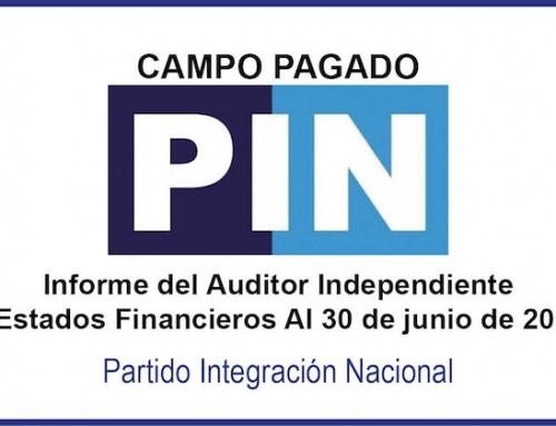 [Campo Pagado] Estados Financieros al 30 de junio del 2018 con el Dictamen del Auditor Independiente