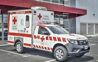 Ambulancia Cruz Roja Santa Bárbara