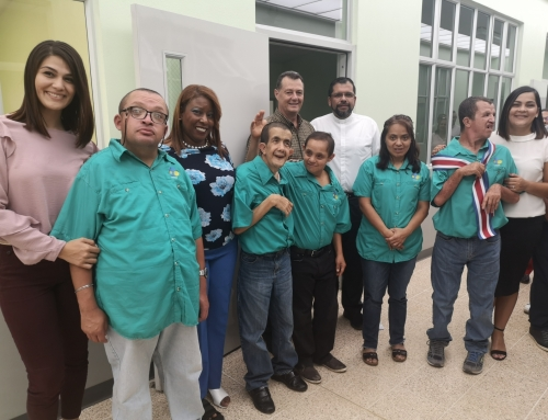Lotería financia construcción de centro de atención para adultos con discapacidad