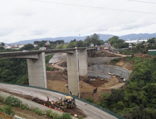 Nuevo puente Virilla entre Tibás y Santo Domingo cuenta con un avance del 20%