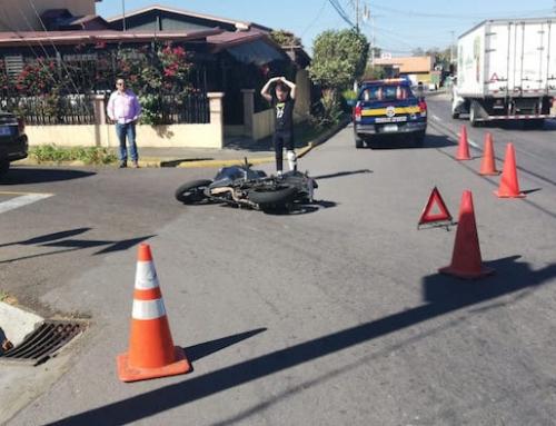 Policía Municipal de Tránsito de Belén pionera con facultad para atender accidentes