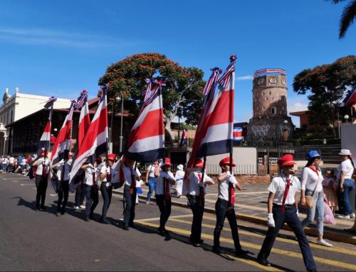 Heredianos se suman a la conmemoración de los 198 años de independencia