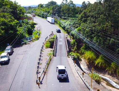 """Inició la construcción del nuevo puente frente a la """"Pepsi"""" en Barreal"""