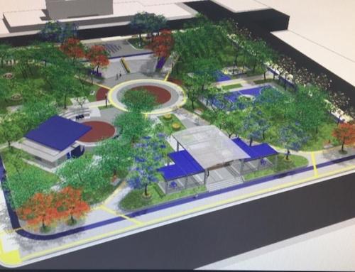 CFIA aprobó los planos de diseño del parque central de Santo Domingo