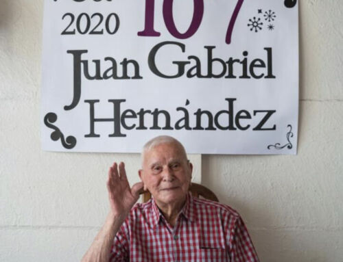 (VIDEO) Juan el vecino más longevo de Heredia cumplió 107 años