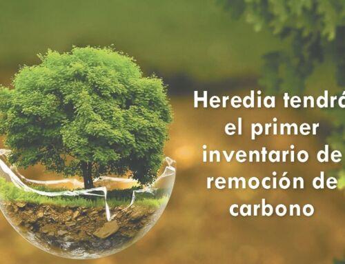 Heredia tendrá el primer inventario de remoción de carbono
