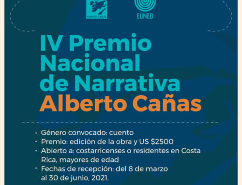 ¿Te gusta escribir cuentos? Participá en el Premio Nacional Alberto Cañas