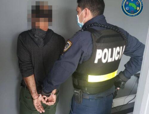 Fuerza Pública detiene a 3 prófugos de la justicia en Santa Bárbara de Heredia