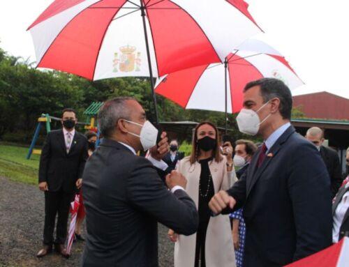 Presidente de Gobierno de España visitó Belén y reconoce liderazgo en acción climática