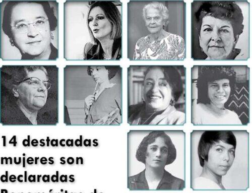 Herediana resalta entre 14 mujeres declaradas Beneméritas de la Patria