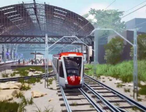 Tren Eléctrico de Pasajeros es declarado de interés público   Velero.cr