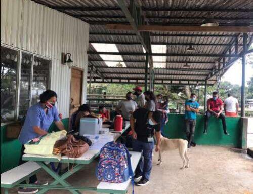 VacunACCIÓN en las faldas del volcán Barva| Velero.cr