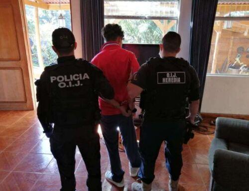 (VIDEO) OIJ detiene en San Rafael de Heredia a sospechoso de tentativa de homicidio | Velero.cr